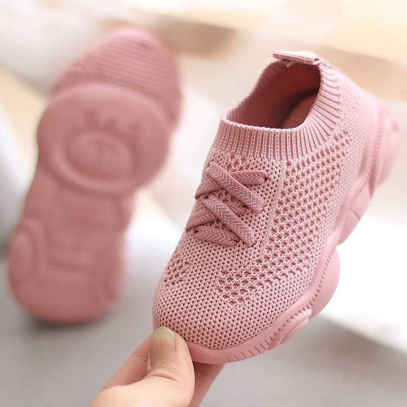 US $7.58 24% OFF|Kids Shoes Antislip Soft Bottom Baby Sneaker Casual Flat Sneakers Shoes Children Size Girls Boys Sports Shoes|First Walkers| - AliExpress