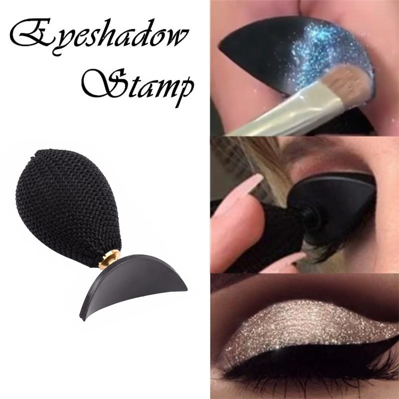 US $2.47 40% OFF|1pc Eyeshadow Stamp Magic Lazy Eye Shadow Stamp DIY Eyeshadow Applicator Eyes Cosmetic Makeup Tools Women Beauty Accessories|Eye Shadow Applicator| - AliExpress