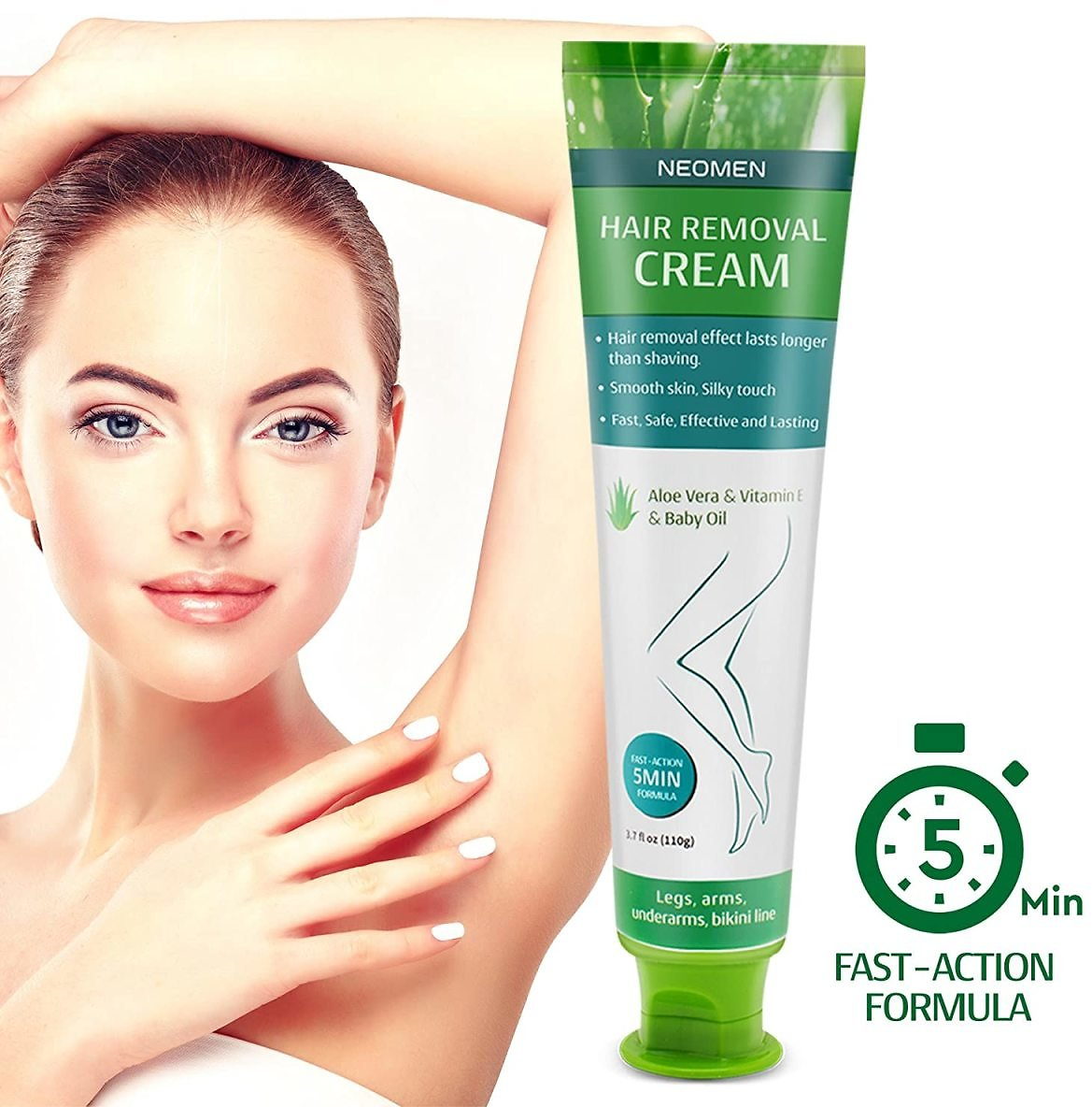 5% Discount - Hair Removal Cream By Neomen