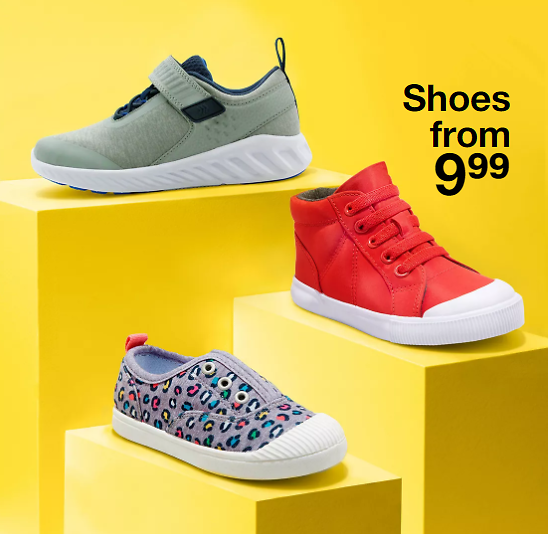Kids' Shoes From $9.99