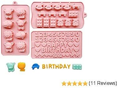 Set of 3 Candy Molds