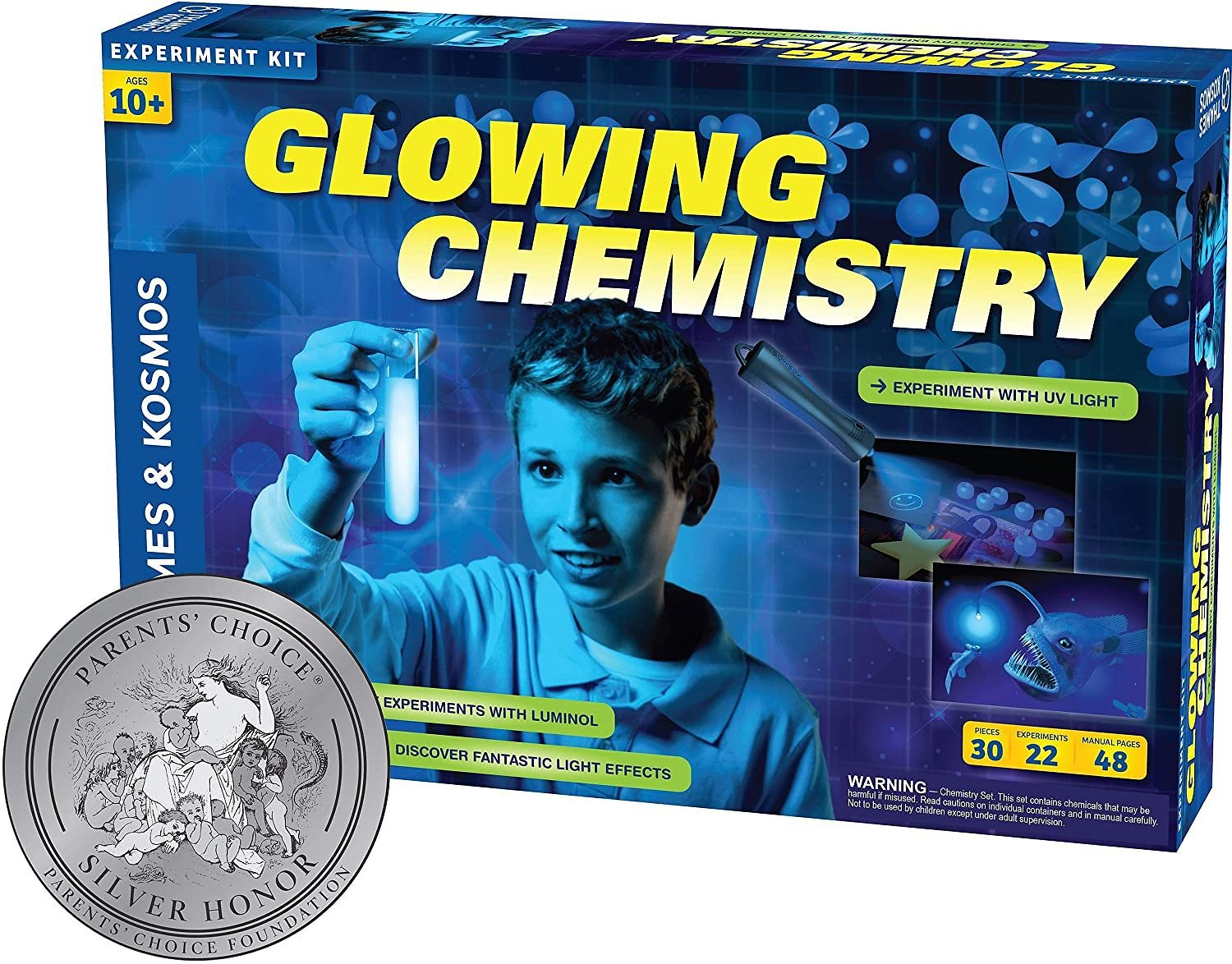 Thames and Kosmos Glowing Chemistry Kit