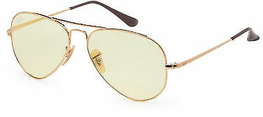 Ray-Ban Unisex RB3689-001-T455 Gold Frame 55mm Sunglasses 8056597139274