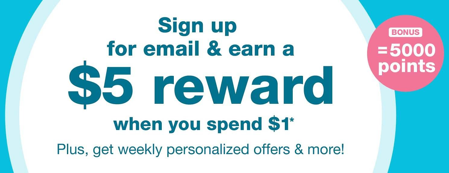 Earn $5 With Email Update | Walgreens