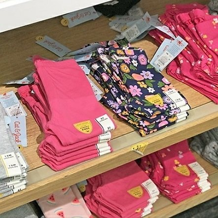 Spend $25 Save $5, Spend $40 Save $10 On Cat & Jack Kids Apparel