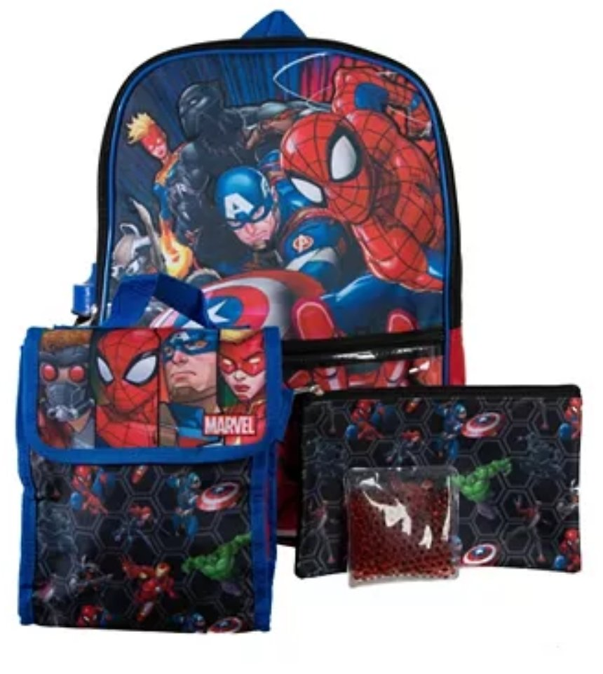 5 Piece Backpack ( Various Types)