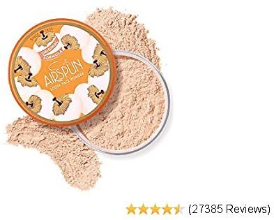 Coty Airspun Loose Face Powder 2.3 Oz. Honey Beige Light Peach Tone Loose Face Powder, for Setting or Foundation, Lightweight, Long Lasting, Pack of 1
