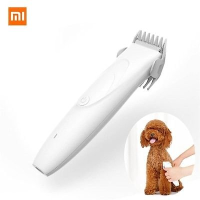 Xiaomi Pawbby Pets Hair Trimmer Dog Cat Pet Grooming Electrical Hair Clippers USB Rechargable Shaver - White China