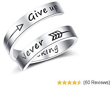 Stainless Steel Inspirational Ring