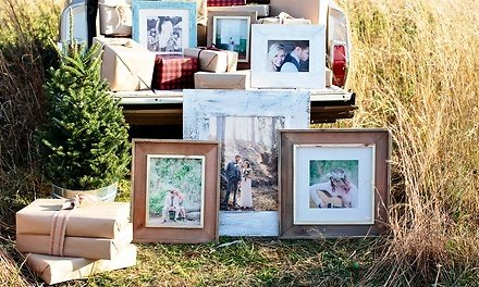 Up to 90% Off - Custom Framed Print On Wood, Canvas, or Burlap from PhotoBarn (Up to 90% Off)