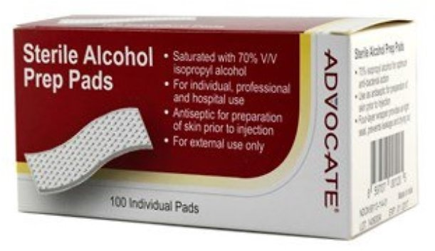 Only 5 Left! Alcohol Pads