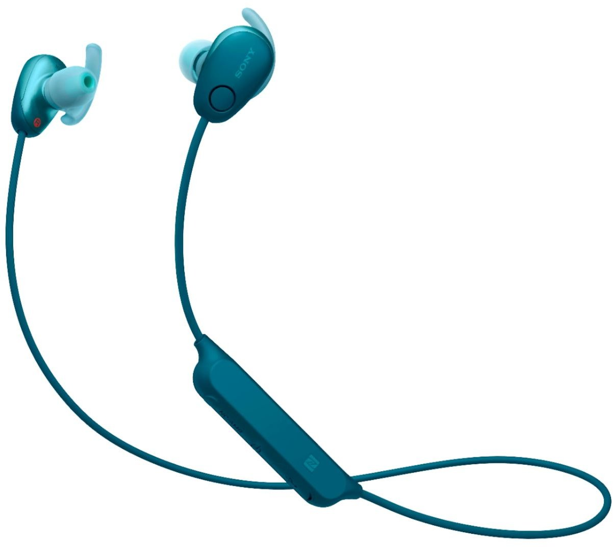 Sony SP600N Sports Wireless Noise Cancelling In-Ear Headphones Blue WISP600N/L