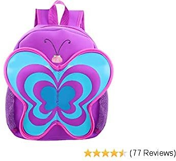 SAVE EXTRA 5% WITH COUPN | Kids' Backpack for Toddlers By Fenrici, Mini Backpacks for Boys, Girls, 12""