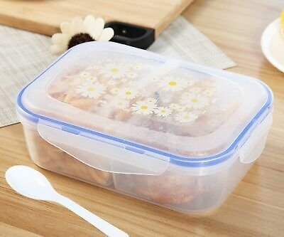 Lunch Box Plastic Food Container Storage Tableware BentoBox Microware Dinnerware 699961517704