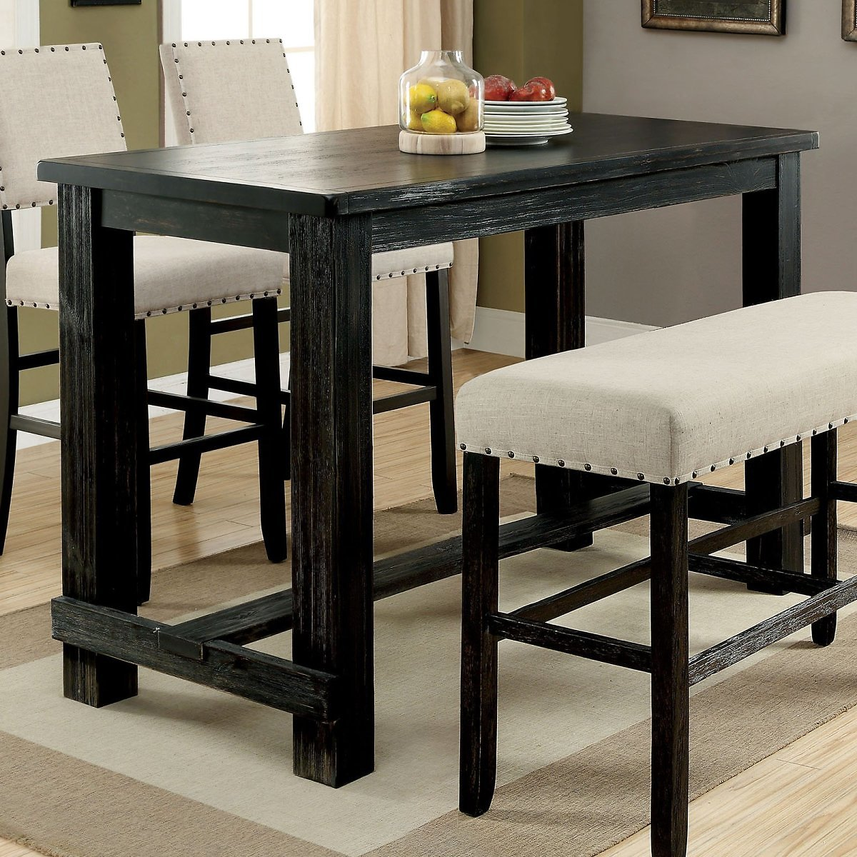 Furniture of America Helin II Bar Height Dining Table