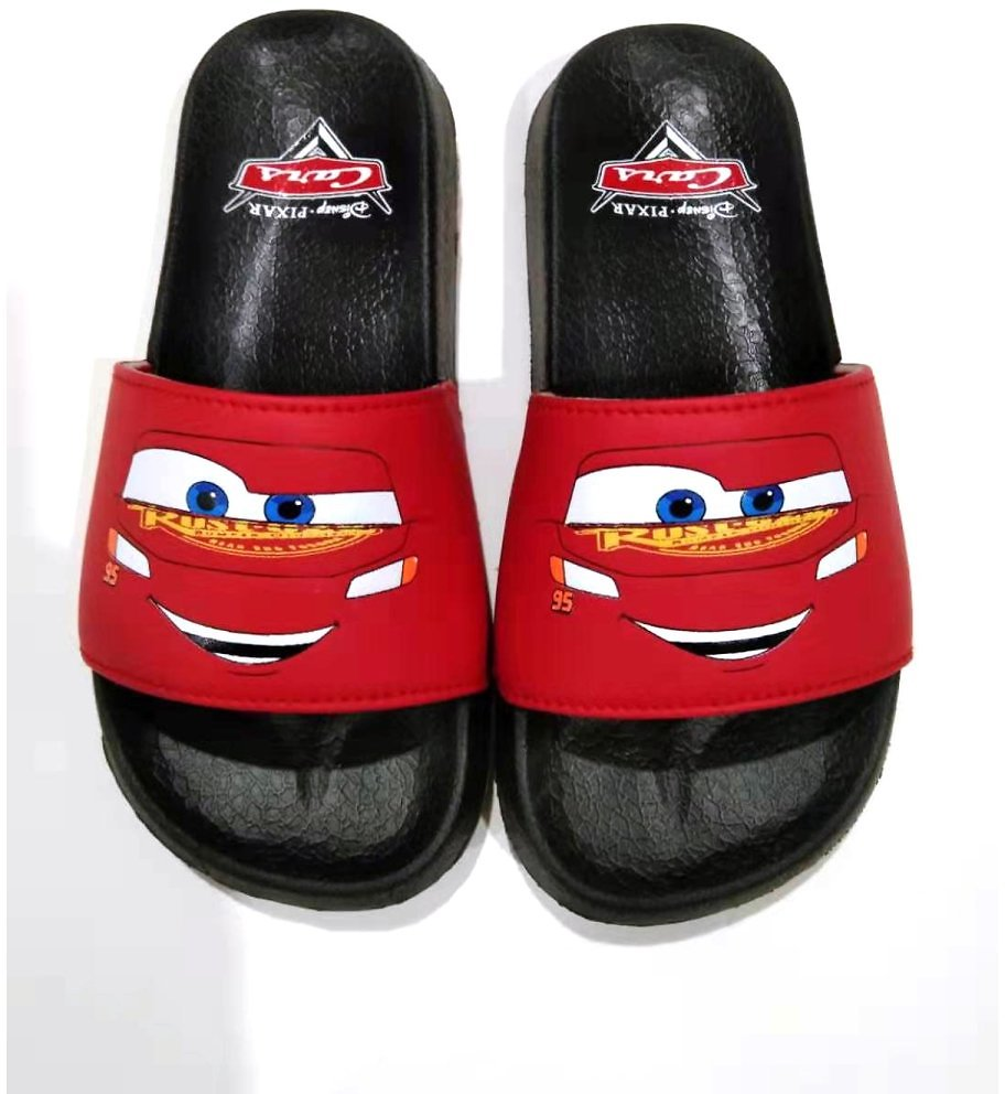 Cars Slide Sandals (Big Boys & Little Boys)