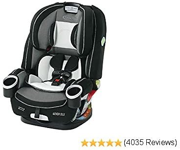 Graco 4Ever DLX 4 in 1 Car Seat | Infant to Toddler Car Seat, with 10 Years of Use, Fairmont 10% OFF