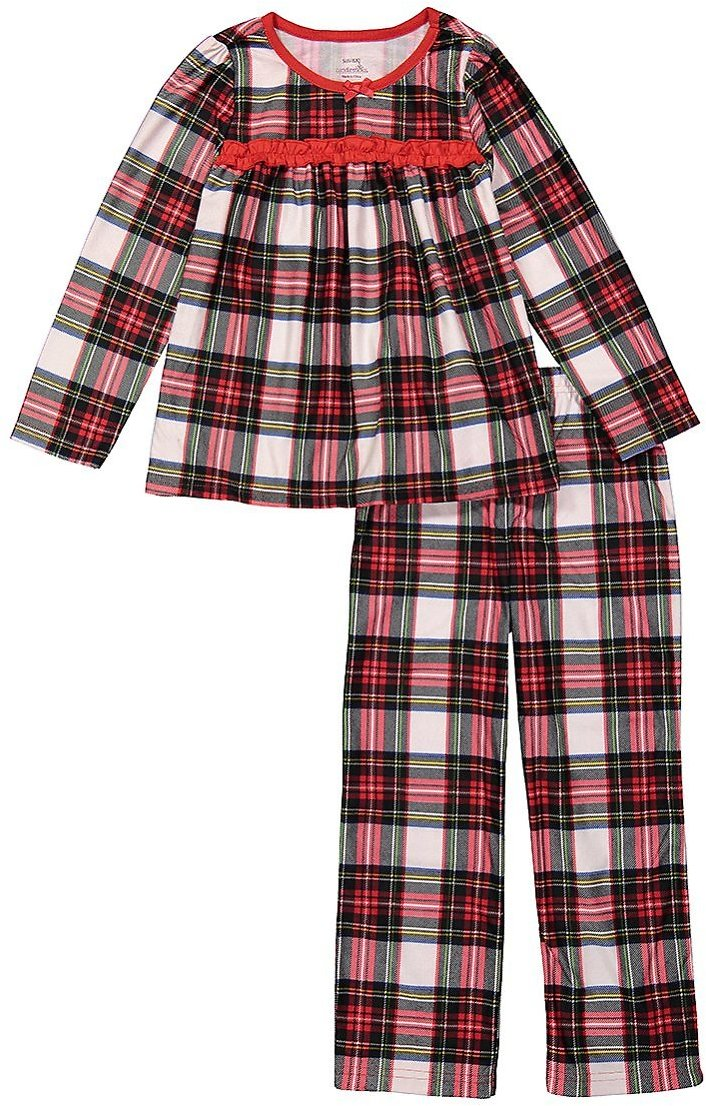 Love This Product Red & White Plaid Swing Pajama Set - Infant, Toddler & Girls