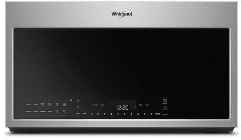 Whirlpool 1.9-cu Ft Smart Over-the-Range Microwave with Scan-to-Cook Technology and Convection Cooking - Fingerprint Resistant Stainless Steel Lowes.com