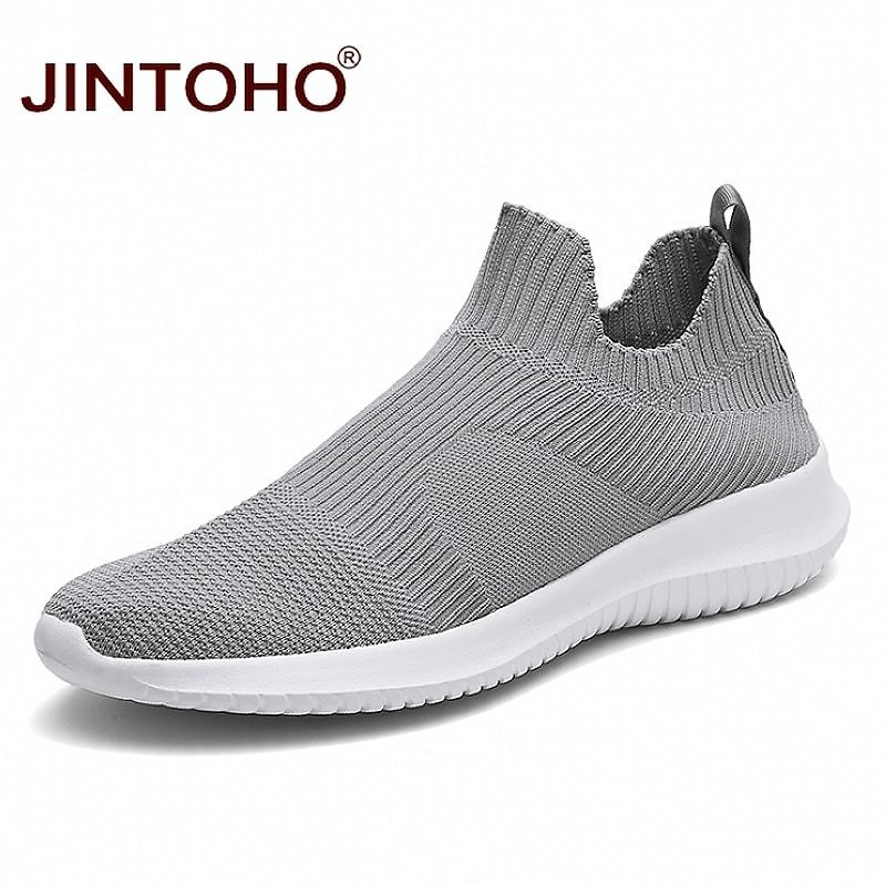 US $9.74 35% OFF|JINTOHO Summer Fashion Men Sneakers Breathable Men Fashion Shoes Slip On Sneakers For Men Cheap Men Loafers Shoes Without Laces|Men's Casual Shoes| - AliExpress