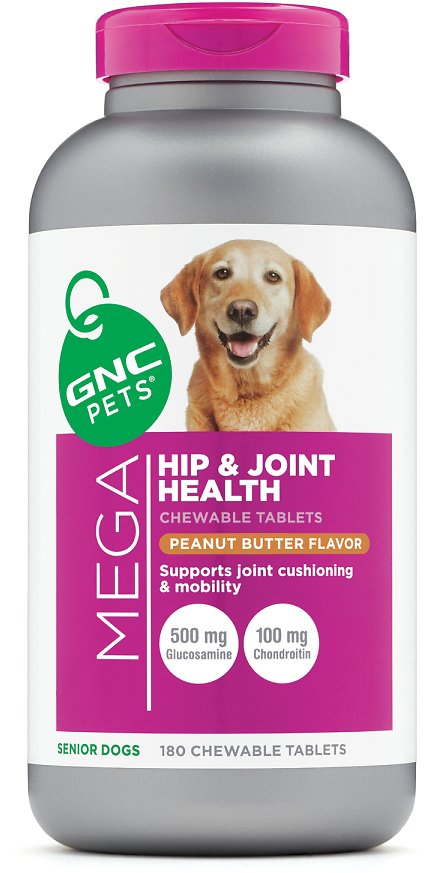Mega Hip and Joint Health - Senior Dogs - Peanut Butter Flavor