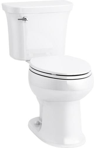 Sterling Stinson White WaterSense Elongated Chair Height 2-Piece Toilet 12-in Rough-In Size (ADA Compliant) Lowes.com