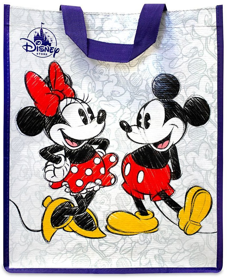 Mickey and Minnie Mouse Classic Reusable Tote | ShopDisney