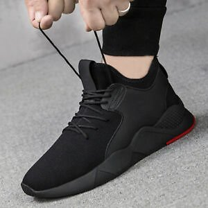 Men's Sports Breathable Athletic Shoes Sneakers Walking Tennis Running Shoes