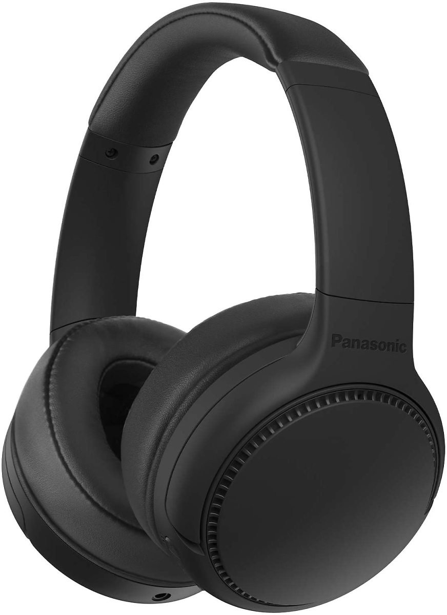 Panasonic RB-M300B Deep Bass Wireless Bluetooth Immersive Headphones - Black / Sand Beige