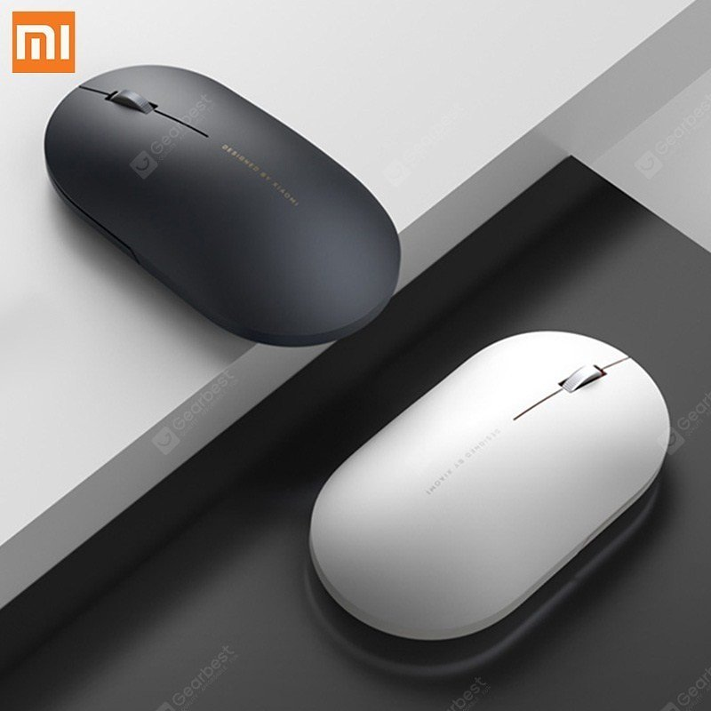 Original XIAOMI Wireless Mouse 2 2.4GHz 1000DPI Portable for PC Computer Tablet Laptops Sale, Price & Reviews | Gearbest