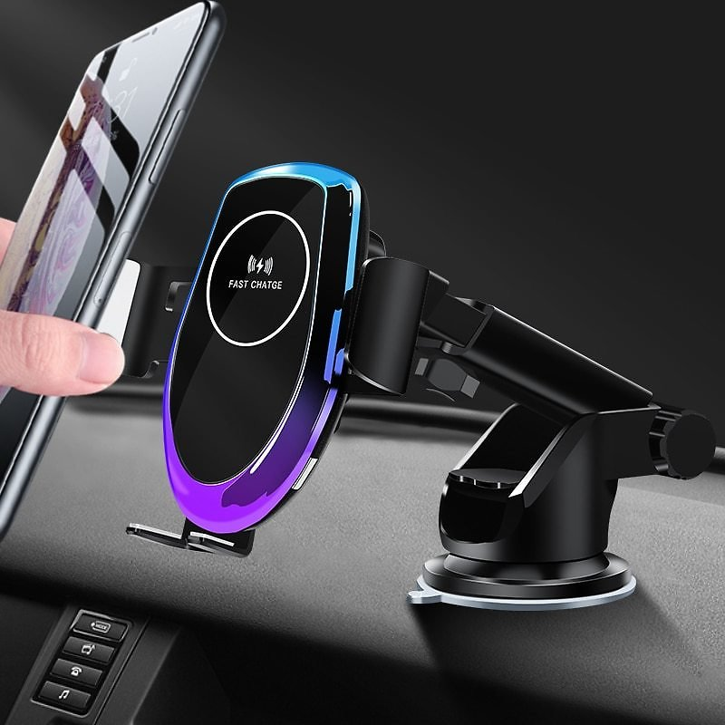 US $25.16 40% OFF|Automatic Clamping 10W Wireless Charger Car Phone Holder For IPhone Xs Plus Huawei Samsung Car Qi Wireless Charging Phone Holder|Phone Holders & Stands| - AliExpress