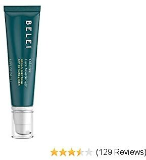 Belei By Amazon: Oil-Free SPF 50 Moisturizing Sunscreen, UVA/UVB Protection, Fragrance Free, Paraben Free, 1.7 Fluid Ounce (50 ML)