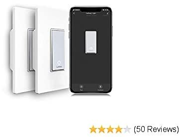57%OFF Lumary 3 Way Smart Switch Kit, 2.4GHz Wi-Fi Light Switch Compatible