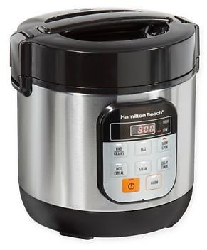 Hamilton Beach 1.5 Qt. Stainless Steel Compact Multi-Cooker