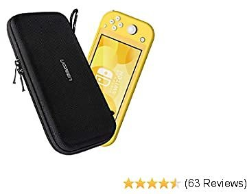 UGREEN Carrying Case Compatible for Nintendo Switch Lite, Portable Protective Hard Shell Travel Carrying Pouch Bag for Nintendo Switch Lite Console & Accessories