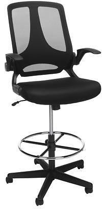 OFM Essentials Collection Mid Back Mesh Drafting Chair