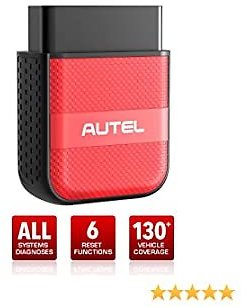 Autel AP200M OBD2 Scanner Bluetooth Dongle, OE-Level Full System Diagnostics, 6 Maintenance Service, Simplified AP200, Advanced Version of MD808, MD806, 1 Free Year Use