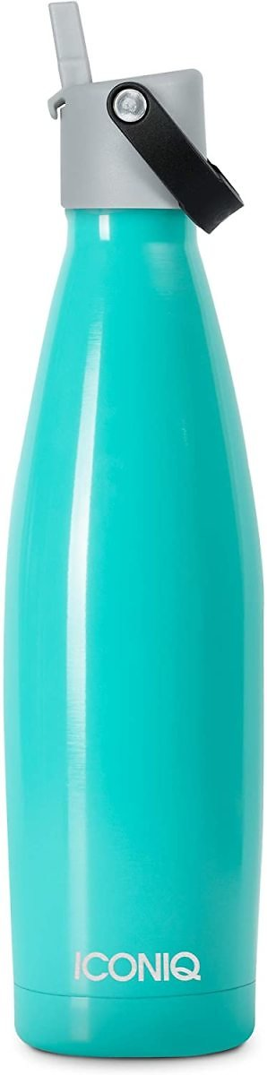 Save 50% Off Select Insulated Water Bottles Mint Green + Straw Cap