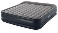 Intex 16.5 Inch Deluxe Inflatable Air Mattress w/ Built In Pump, King (Open Box) | Wish