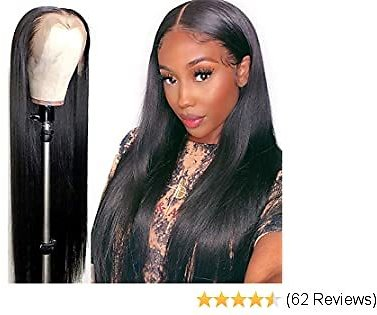 32inch Natural Straight Front Wig Brazilian Human Hair