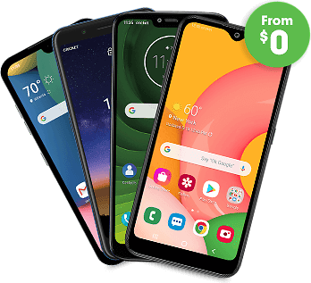 Get a Samsung, LG or Nokia Phone Starting At $0 When You Switch - Cricket Wireless