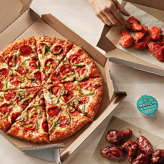 Free Domino's Pizza for a Year & More!