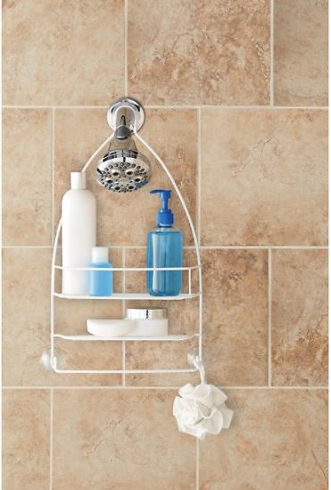 Mainstays Over-the-Shower Caddy, Set of 2