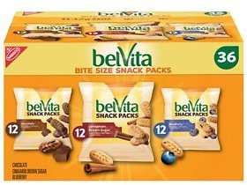 BelVita Bites Variety Pack Mini Breakfast Biscuits (1 Oz., 36 Pk.) - Sam's Club