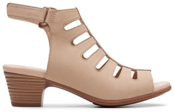 Valarie Shelly Sand Nubuck -Womens Sandals -Clarks® | 40% Off