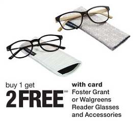 Buy 1 Get 2 Free Reader Glasses & Accessories (8/16)