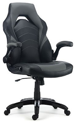 Staples Bonded Leather Racing Gaming Chair