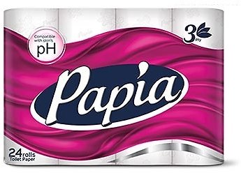 Now Live ! Papia 3PLY 24 Roll Bath Tissue (In Store)