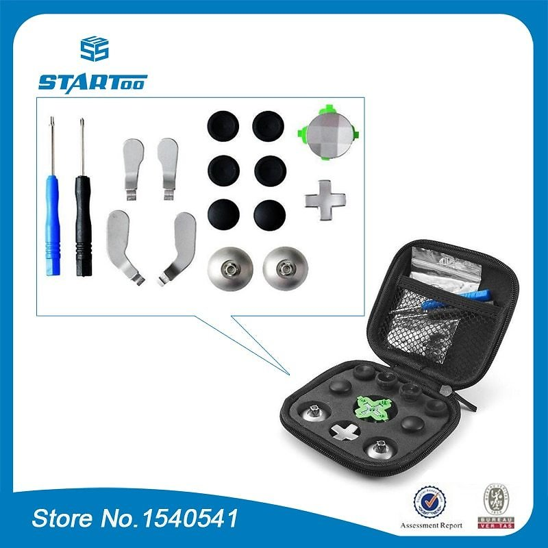 US $22.9 |For Xbox One Elite Controller Custom Mod Button Thumbstick D Pad with Screw Driver Tools Replacement Set|Replacement Parts & Accessories| - AliExpress
