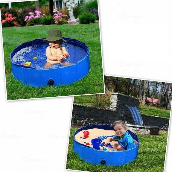75% OFF Collapsible Outdoor Portable Swimming Pool for Kids or Pets